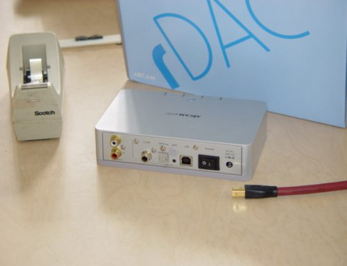 Arcam rDac USB asymetrisch wireless