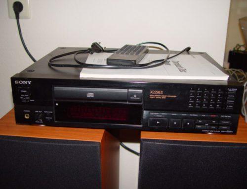 Sony CDP-229 ESD cd speler
